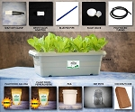 Food Rising Mini-Farm Grow Box 2.0 (Peppers Starter Kit with 2-hole Lid)
